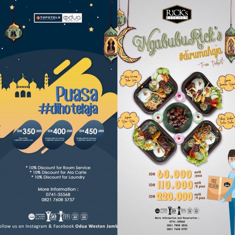 Nikmati Promo Menarik Hotel Odua Weston Jambi Selama Ramadhan