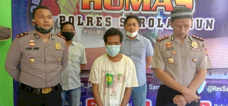 Sadis, Cabuli hingga Ancam Bunuh Anak Kandungnya, Sopir di Sarolangun Ini Ditangkap Polisi