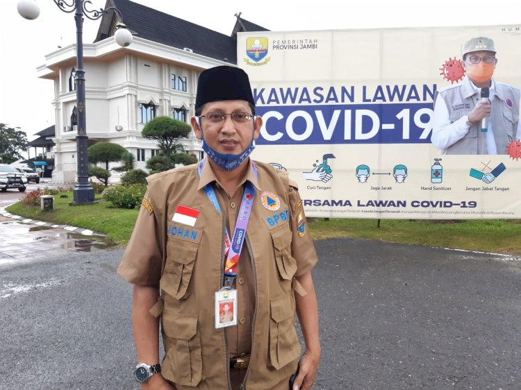 Penambahan Pasien Positif Corona Jambi 7 Juli, Johansyah: Dari Kota Jambi