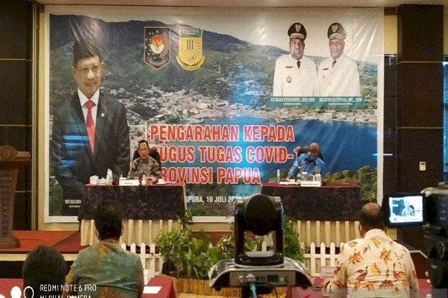 Tingginya Positif di Papua, Mendagri Minta Tokoh Agama ajak Warga Patuhi Protokol Kesehatan