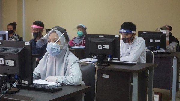Jelang Akhir UTBK Ingat dengan Protokol Kesehatan, Cek di Sini Langkahnya...