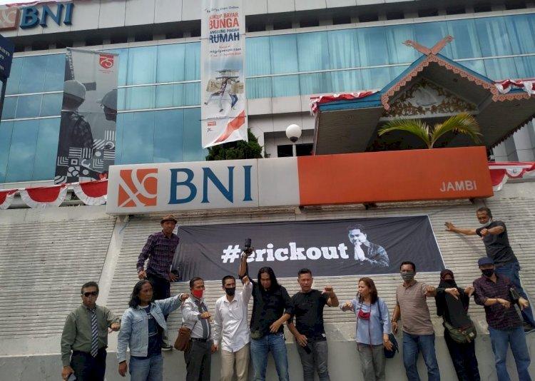 Dituding Pro Khilafah & Sibuk Nyapres Relawan Jokowi di Jambi Minta Presiden Pecat Erick Thohir