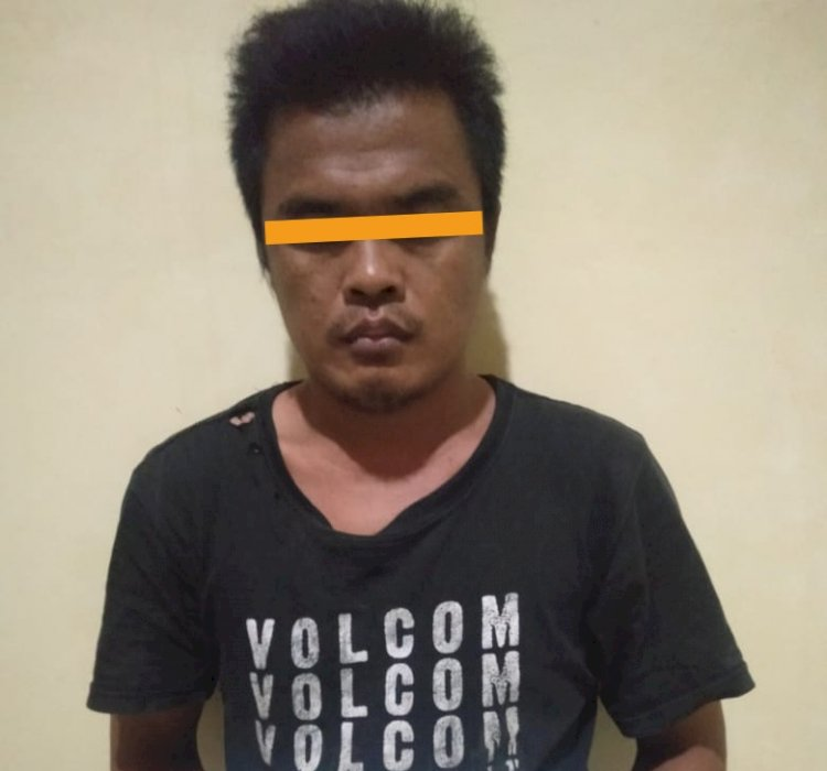 Simpan Sabu, Pria Asal Kotakarang Kumpeh Ulu Ini Diamankan Polisi
