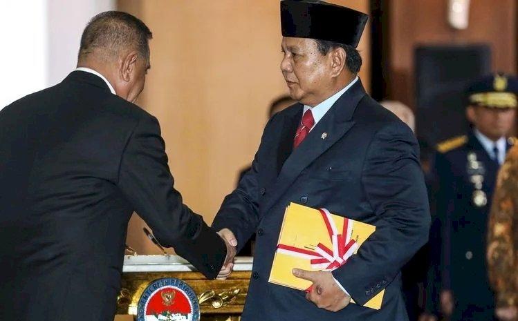 Gelar Kongres Luar Biasa, Prabowo Ditetapkan Jadi Ketua Umum Gerindra Lagi
