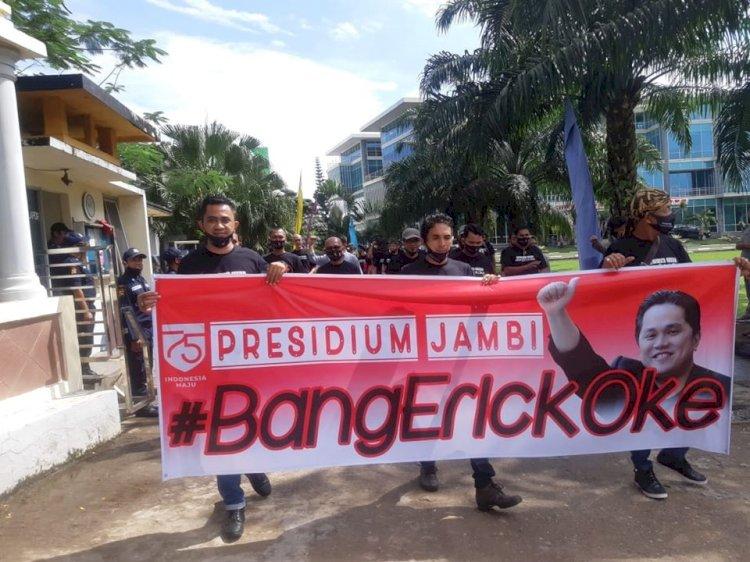 Setelah #erickout, Muncul #BangErickOke Dorong BUMN di Jambi Fokus Sukseskan Program Pemerintah