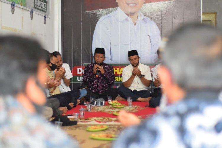 Pulang ke Kampung Halaman, Abdullah Sani Disambut dengan Sholawat