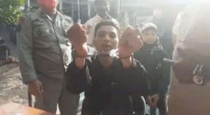 WOW! Sanksi Tak Pakai Masker di Bogor Anda Diborgol