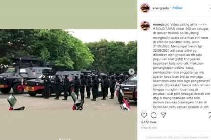 Nah Loh, Solo Dijaga 800 Pasukan Kopassus dan Brimob Dikerahkan?