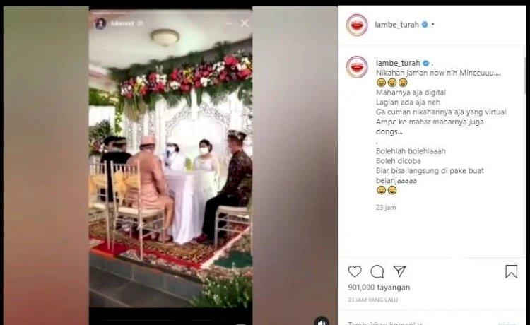 Pernikahan Zaman Now, Mahar Saldo GoPay Rp10 Juta, Netizen: Habis Nikah Ini Go-Food Mulu!