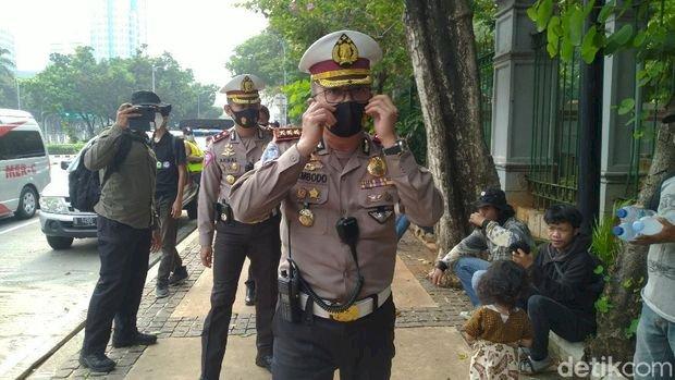 Cegah Penyusup Provokator di Demo CiptaKerja, Polisi Suruh Warga Pulang ke Rumah