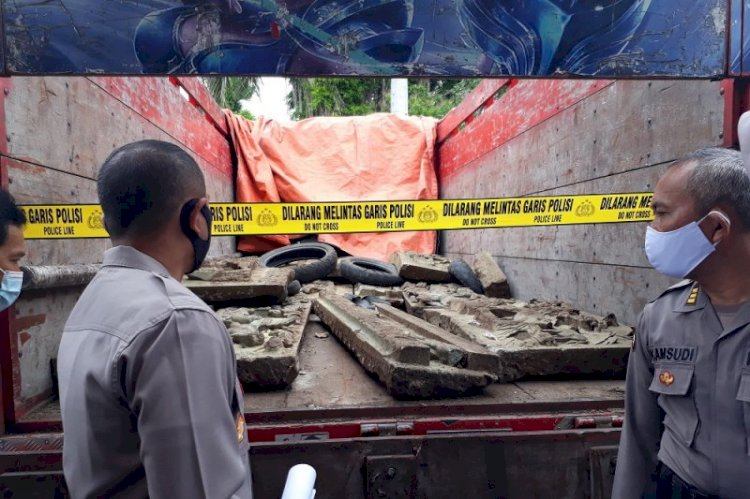 Ini Dia Pencuri relief di Makam Tionghoa yang Bikin Heboh Warga Kediri