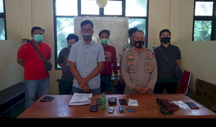 Pengedar Narkotika di Muarojambi Ini Mengaku  Dapat Sabu dari Lapas Jambi