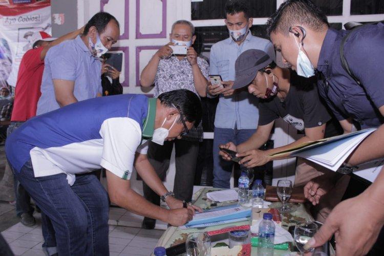 Ojol Kota Jambi Dukung Pasangan Fachrori Umar dan Syafril Nursal