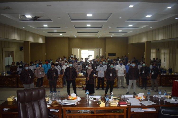 15 Jam Laksanakan Pleno, Rekapitulasi Suara di Merangin Ditetapkan KPU