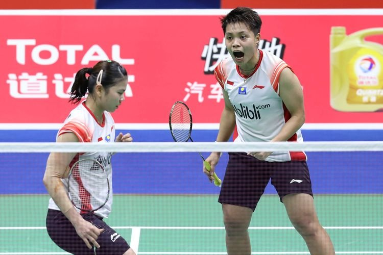Mantap! Greysia/Apriyani melaju ke Babak Dua Thailand Open