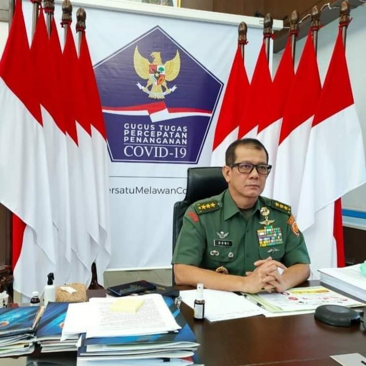Ketua Satgas Doni Monardo tertular COVID-19