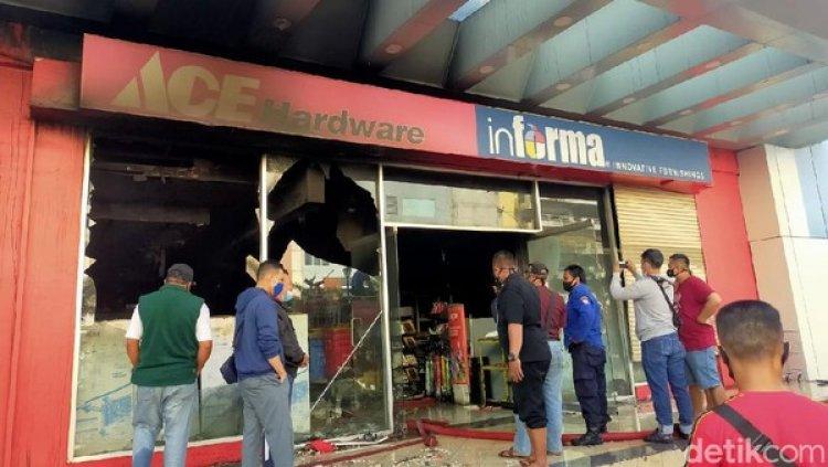 11 Jam Terbakar, Penyebab Mal Panakkukang Diselidiki Polisi