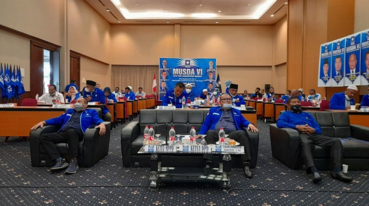 PAN Bungo Musda ke-VI, Martunis Ditetapkan Jadi Ketua DPD