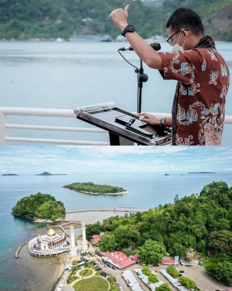 "Cek Kawasan Mandeh, Sandi: Potensi Wisata Bahari Hingga Dijuluki ""Paradise of the South"""