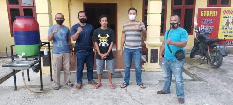 Pelaku Penikaman di Lokasi PETI Lubuk Bedorong Sarolangun Ditangkap Polisi