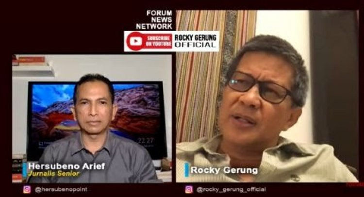 Viral! CCTV Munarman di Hotel, Rocky Gerung: Terlihat Kekuasaan Menyusun Rencana Ingin Memojokkan Munarman