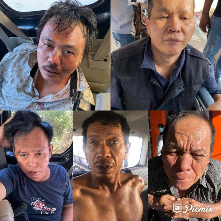 Kawanan Perampok Indomarco Dibekuk Tim Gabungan di Muarojambi