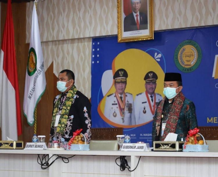 Musyawarah Ikatan Keluarga Bungo Jambi ke 5, Syarasadin Terpilih Secara Aklamasi