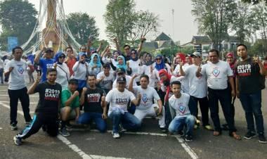Di Jambi Aksi #2019GantiPresiden Berbaur Bersama Deklarasi #2019PemiluDamai