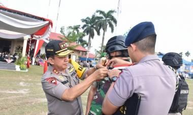 Polda Jambi Turunkan 4.569, Korem 042 Jambi 3.100 Personil Amankan Pemilu 2019