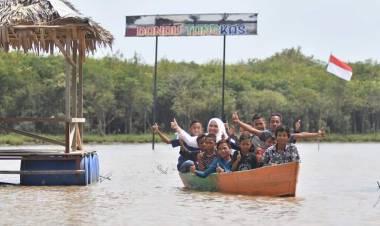 Gunakan Dana Desa, Kembangkan Wisata Danau Tangkas