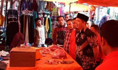 Kunjungi Pasar di Kerinci, Ihsan Yunus: Harga Bahan Pokok Stabil