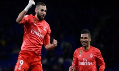 Tumbangkan Espanyol, Madrid Bukukan Tiga Kemenangan