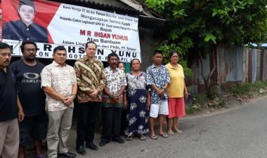 Ihsan Yunus Kunjungi Jalan Setapak Bantuan BUMN di Jambi, Ini Janjinya…