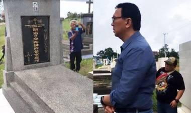 Cerita Ahok Pulang Kampung Kunjungi Makam Ayahnya di Belitung Timur
