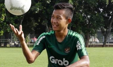 Gelandang Sani Rizki Bangga Jalani Debut di Timnas U-22