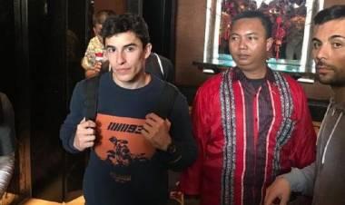 Marc Marquez Main ke Bandung