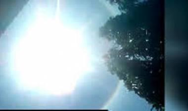 Heboh! Penampakan Matahari Halo di Langit Cilacap