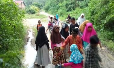 Sering Dibahas, Namun Jalan Lingkungan Sridadi Tak Kunjung Dibangun