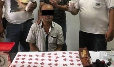 Bawa Ribuan Ekstasi, Pria Asal Medan Ini Dibekuk Tim Ditnarkoba Polda Jambi