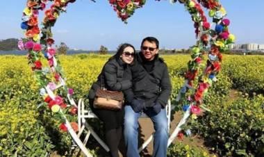 Bahagianya Ahok & Puput Bulan Madu di Korea Setelah Resmi Berstatus Suami Istri?