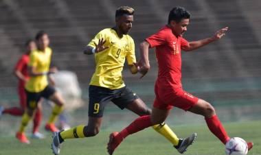 Sempat Ungul, Indonesia Diimbangi Malaysia 2-2