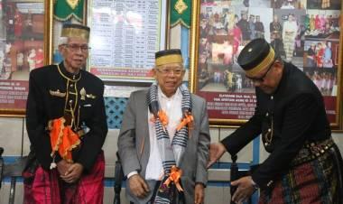 Dianugerahi Karaeng Manaba, Maruf Amin: Saya Jadi keluarga Karaeng Galaesong