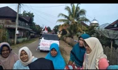 Ibu-ibu dan Warga Sebrang Jaya Demo ke Kejari Bungo, Ini Tuntutannya…