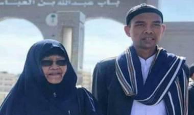 Ibunda Ustadz Abdul Somad Meninggal di Pekanbaru