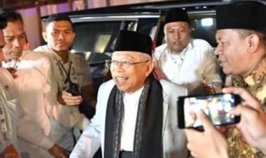 Maruf Amin: Rugi Jika Tak Pilih Jokowi!