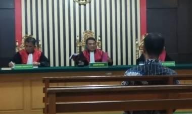 Kasus Pengadaan Mobil, Isnedi Bekas Wakil Ketua DPRD Merangin Divonis 1,2 Tahun Penjara