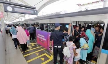 TKN Klaim MRT Hasil Kepemimpinan Jokowi yang Efektif