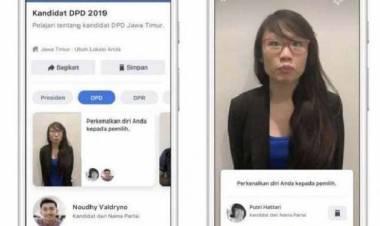 Facebook Buat Fitur Info Kandidat Pemilu 2019