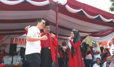 Hari Terakhir Kampanye, Ihsan Yunus dan Abdullah Sani Hadir Bersama dalam Apel Siaga