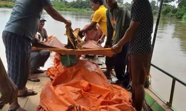 Jenazah Warga Teluk Pandak Jatuh ke Sungai Akhirnya Ditemukan